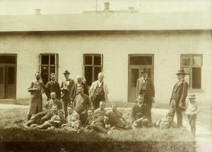 Østsjællands Folkeblad omkring 1900.
