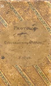 Protokol for Conversations Selskabet  i Kjøge