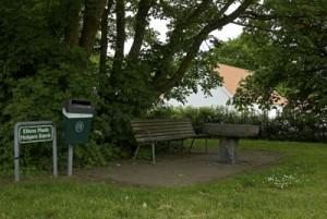 Ellens Plads og Cykel Holgers bænk