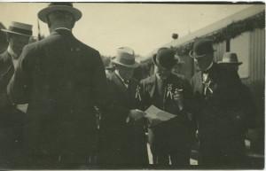 Fra åbningsdagen 3.8.1917 - Køge-Ringsted Jernbanen