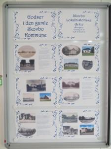 Se udstillingen om godser i Skovbo på Skovbo Lokalhistoriske Arkiv