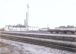 Køge Andels-Svineslagteri  ca. 1914