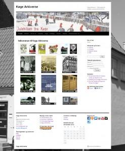 Køge Arkivernes brugere er i høj grad digitale. På www.koegearkiv.dk findes mange digitale ressourcer, ligesom mange henvendelser til arkiverne i dag foregår digitalt.