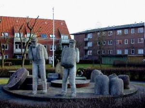 Skulptur ved Mølleparken, Københavnsvej 46