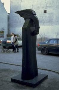 Skulptur i Flindts gård, Vestergade 20