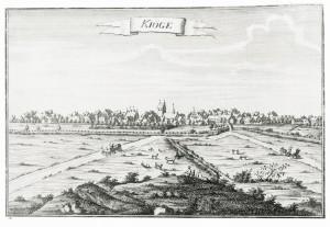 Køge ca. 1750