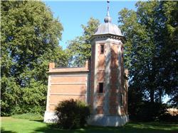Motiv fra Rønnebæksholm Gods