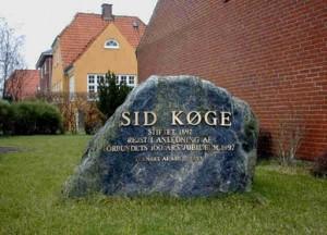 Mindesten for SID's 100 års jubilæum, Strandvejen 99