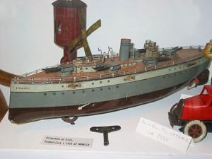 Skib fra Oliver Bergs samling