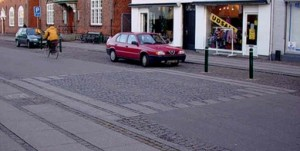 Mindeplade for Køges tidligere byport – Nørreport - ved Nørregade 41/48