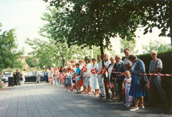 Besøg på KVK 1988