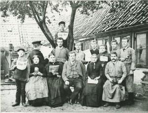 B 4917, Køge Avis ca. 1896