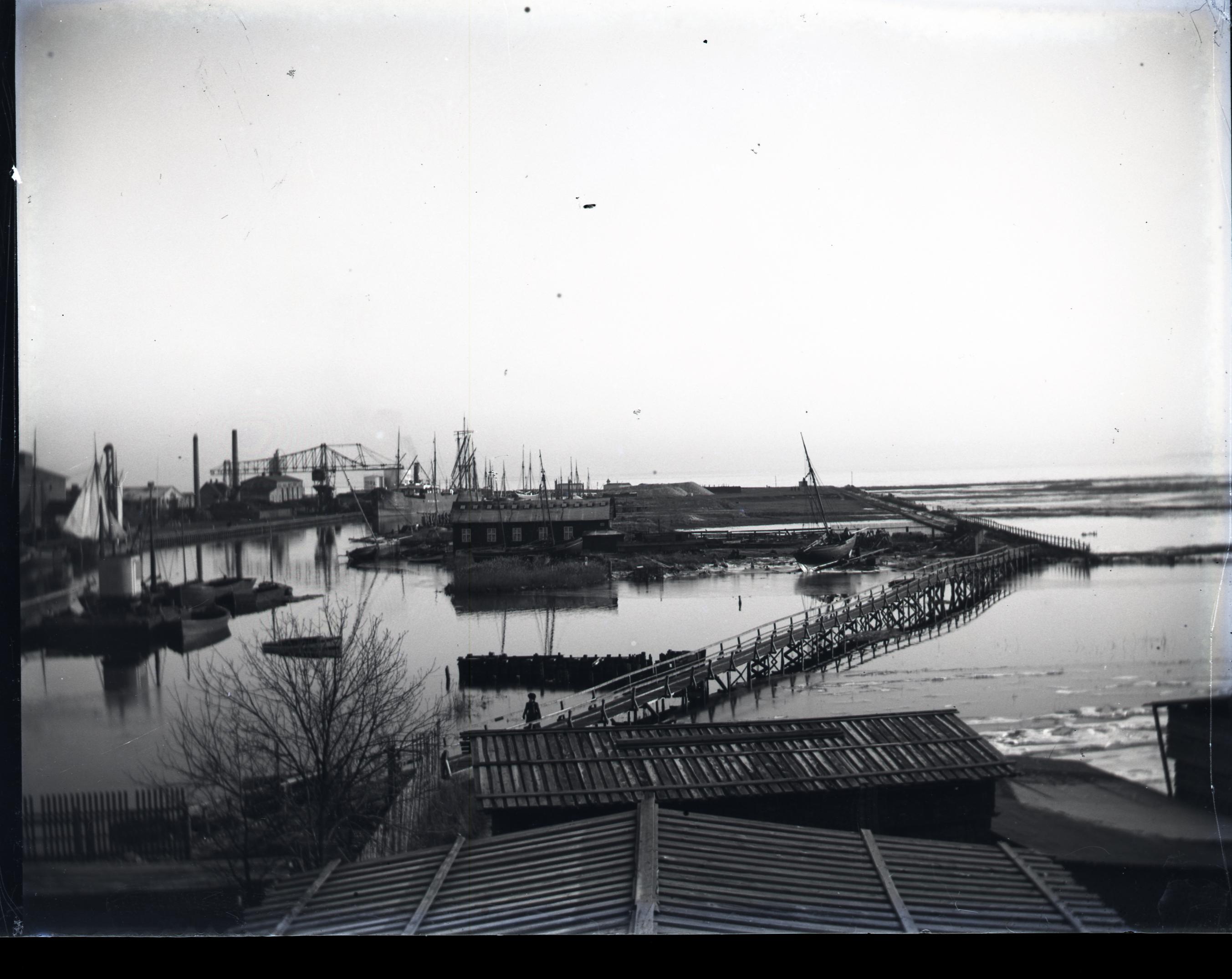 Lige ud Glimt fra Køges Historie – Udsigten over Søndre Havn | Køge Arkiverne ZK92
