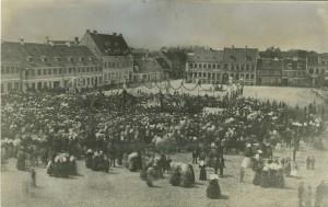Indvielse af statuen af Frederik VII - 5. juni 1869