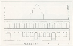 Køge Rådhus ca. 1552 – rekonstruktion
