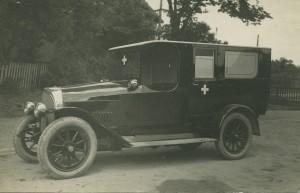 Køges første sygeautomobil tilhørte Anders Andersen fra Kirkestræde