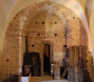 Tårnrum i Køge  Kirke  2. stokværk