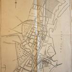 Køge By, kort fra oktober 1944.