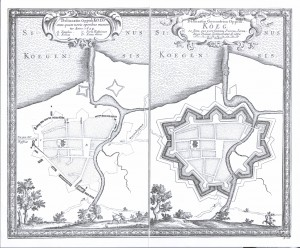 Køge før og efter svenskernes befæstning 1659-60