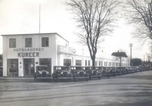 Autolageret Kureer, Fordforhandler i Køge.