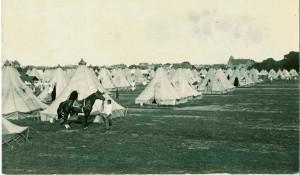 Sikringsstyrken under 1. Verdenskrig – lejren ved Køge