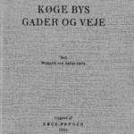 Køge bys gade og veje - Læs bogen her