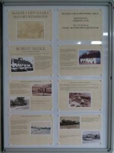 Udstillingen om Skoler i Skovbo i Skovbo Lokalhistoriske Arkiv