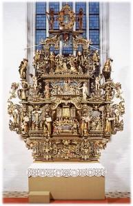 Altertavle 1652 Køge St. Nikolaj Kirke