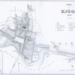 Trap Danmarks kort over Køge 1859, 1. udgaven