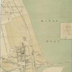 Trap Danmarks kort over Køge 1870, 2. udgaven.