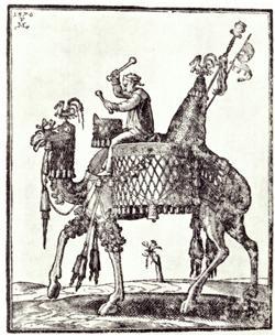 I 1653 kom en noget usædvanlig transport til Køge, nemlig en dromedar på vej til Dresden.